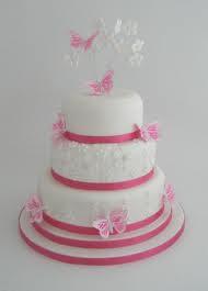 Pink Wedding Cake Photos, Pink Wedding Cake Pictures