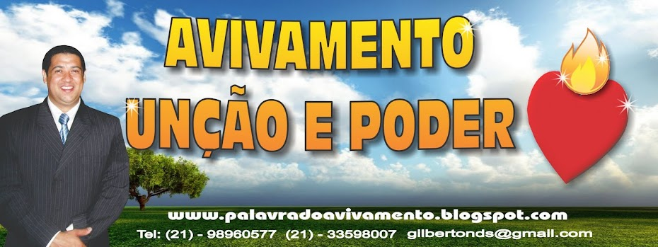 PALAVRA DO AVIVAMENTO