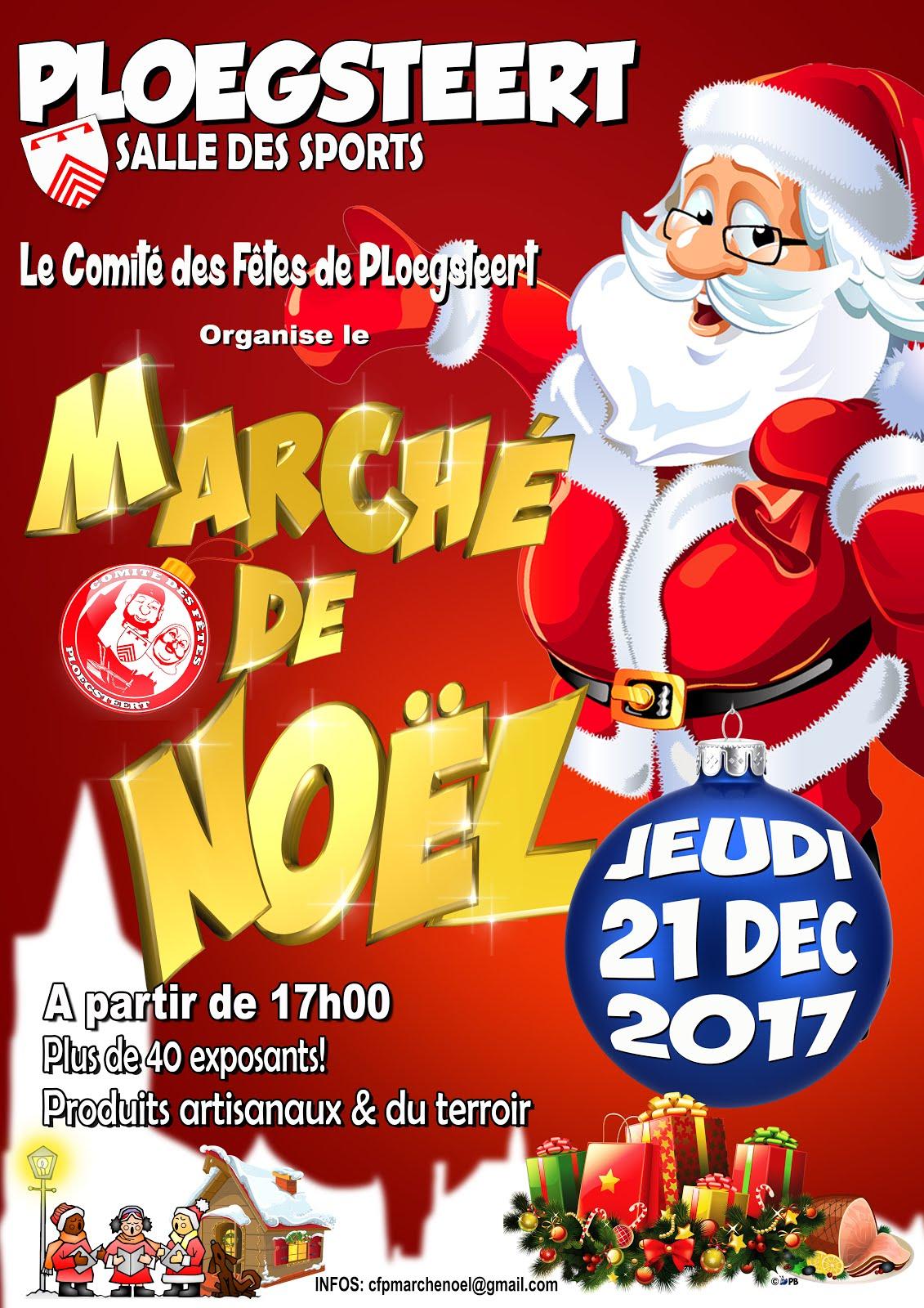 PLOEGSTEERT 21 décembre Marché de Noël