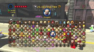 Screenshot 2 Game Lego Marvel Super Heroes