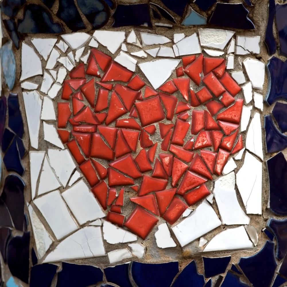 et hjerte kan gå i tusind stykker