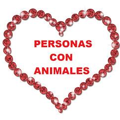PERSONAS CON ANIMALES