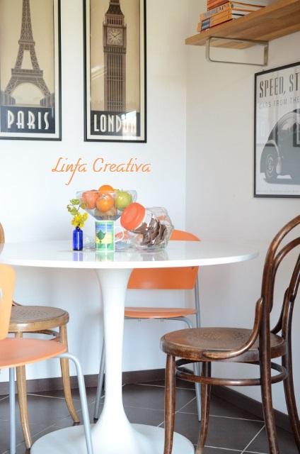 Linfa creativa il mio nuovo tavolo - Tavolo docksta ikea ...
