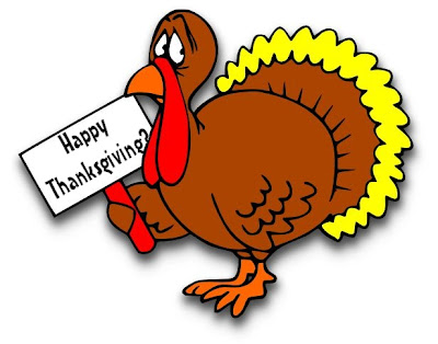 A turkey holding a Happy Anniversary? sign