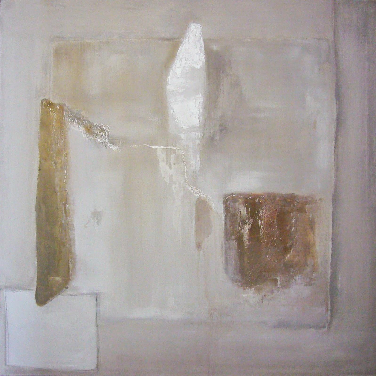 Pinturas abstractas de vanina martinez blancas for Imagenes de cuadros abstractos con relieve