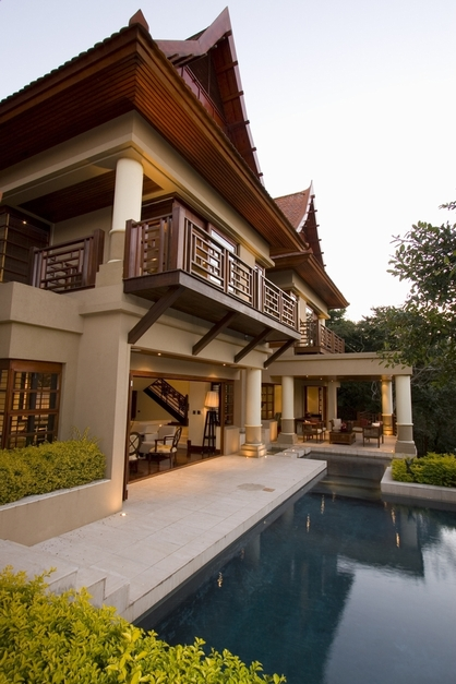 World of architecture house cochrane by metropole for Modern thai house design