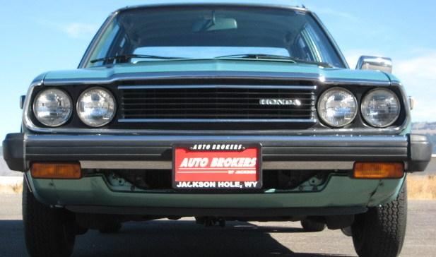 CLASSIC CARS OF THE 1980s  1980 HONDA ACCORD 4 DOOR SEDAN