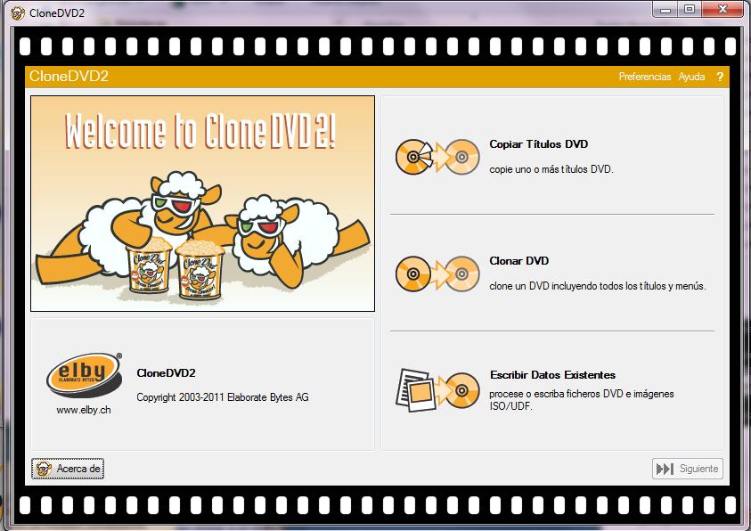 Clone DVD 2.9.3