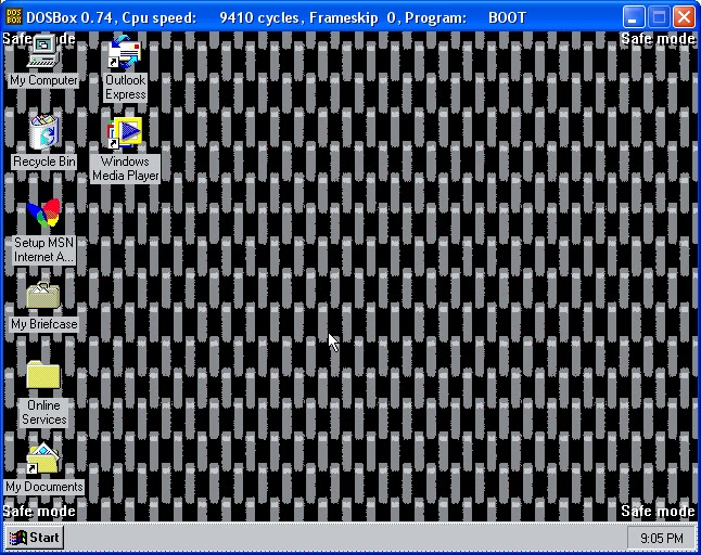 windows 98 iso  dosbox 64