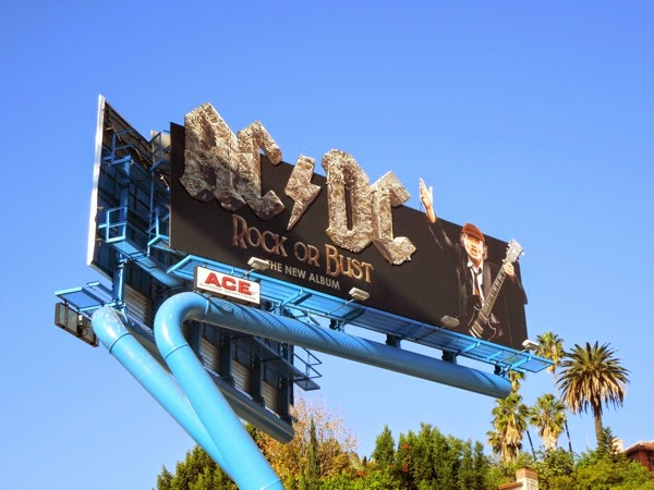 ACDC Rock or Bust special extension billboard