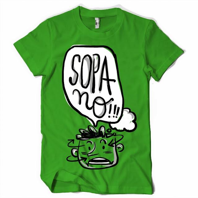 law sopa t shirt