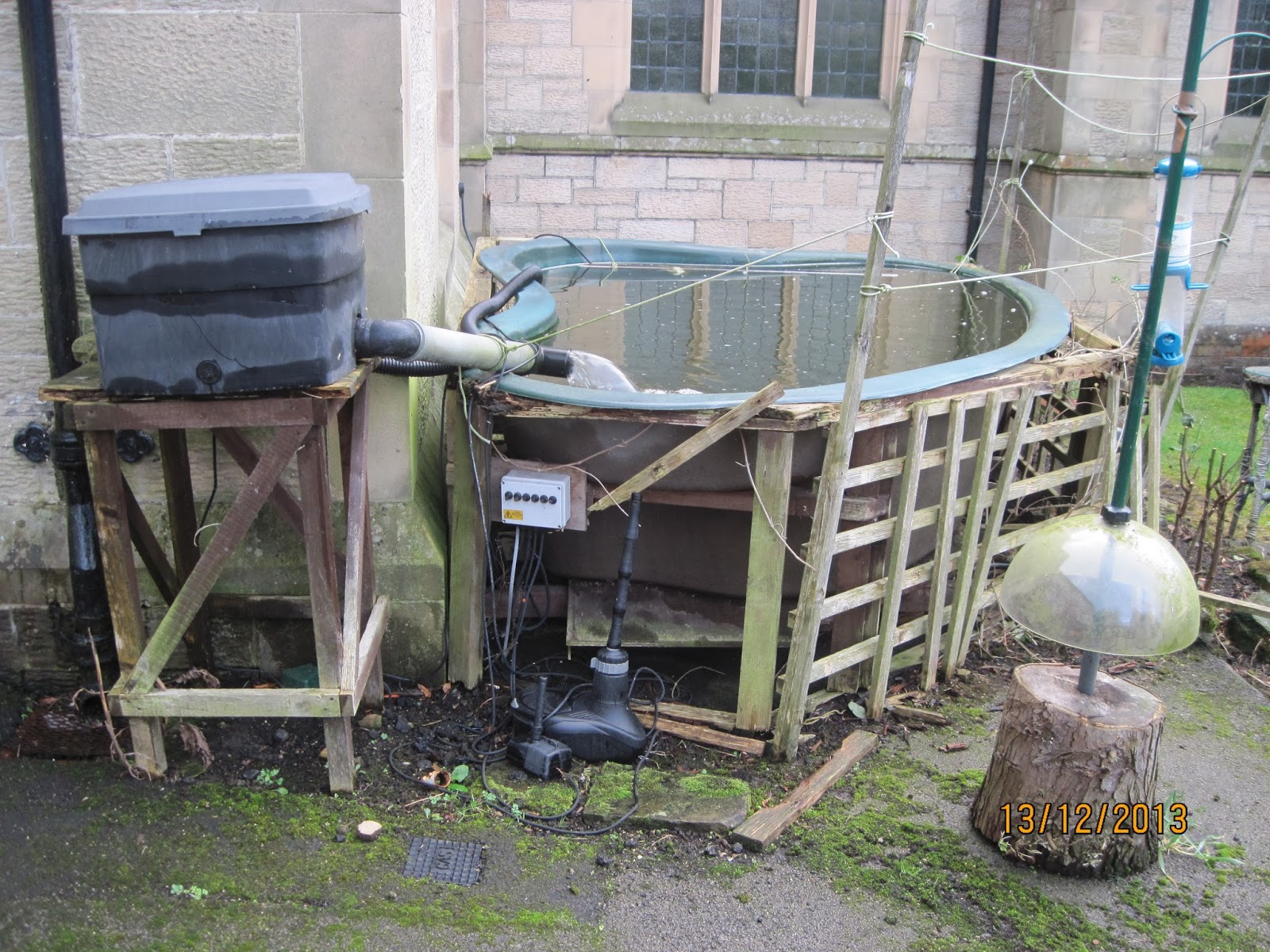 Let the welkin ring december 2013 for Second hand pond filters