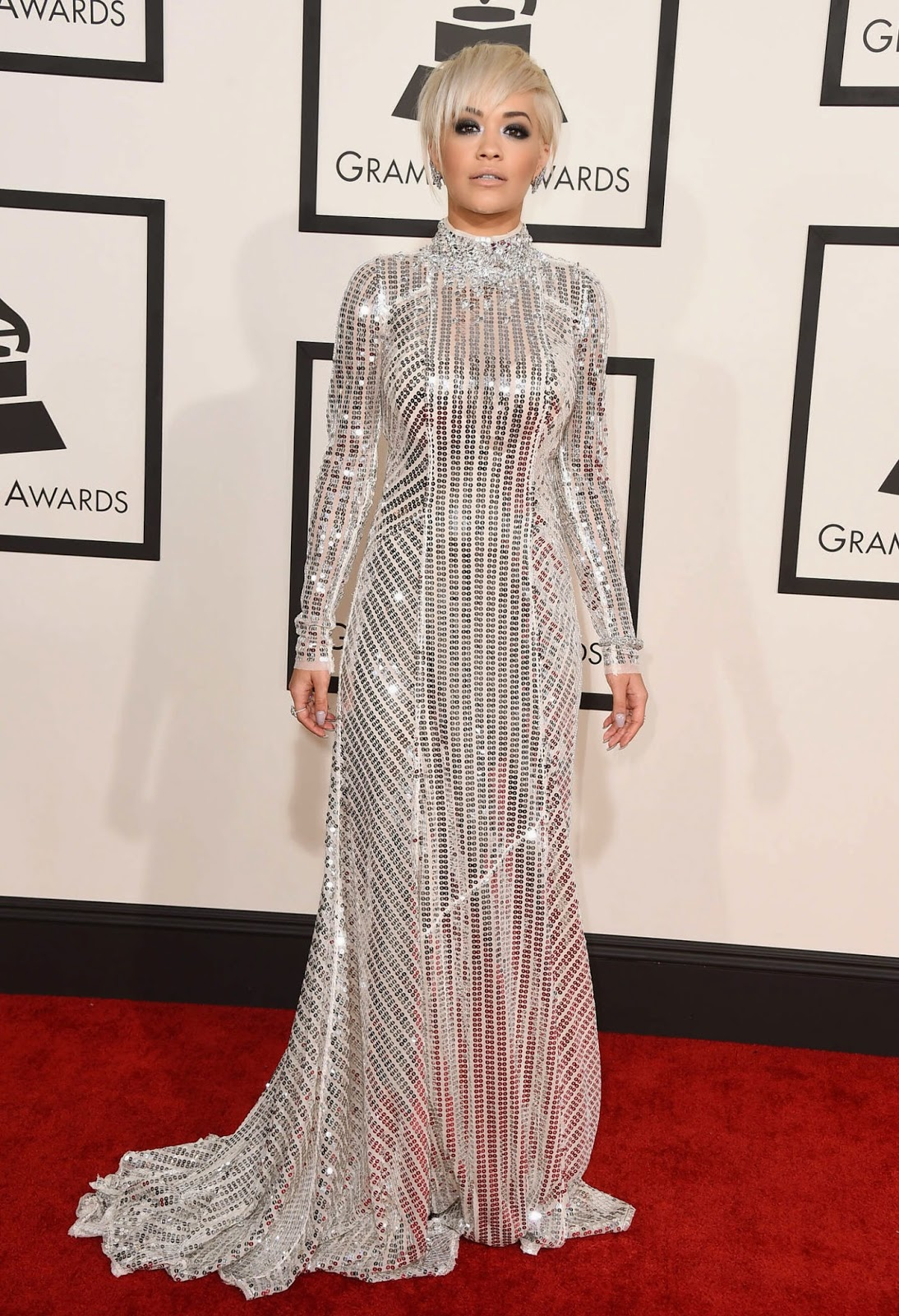 Rita Ora – 57th Annual GRAMMY Awards in Los Angeles