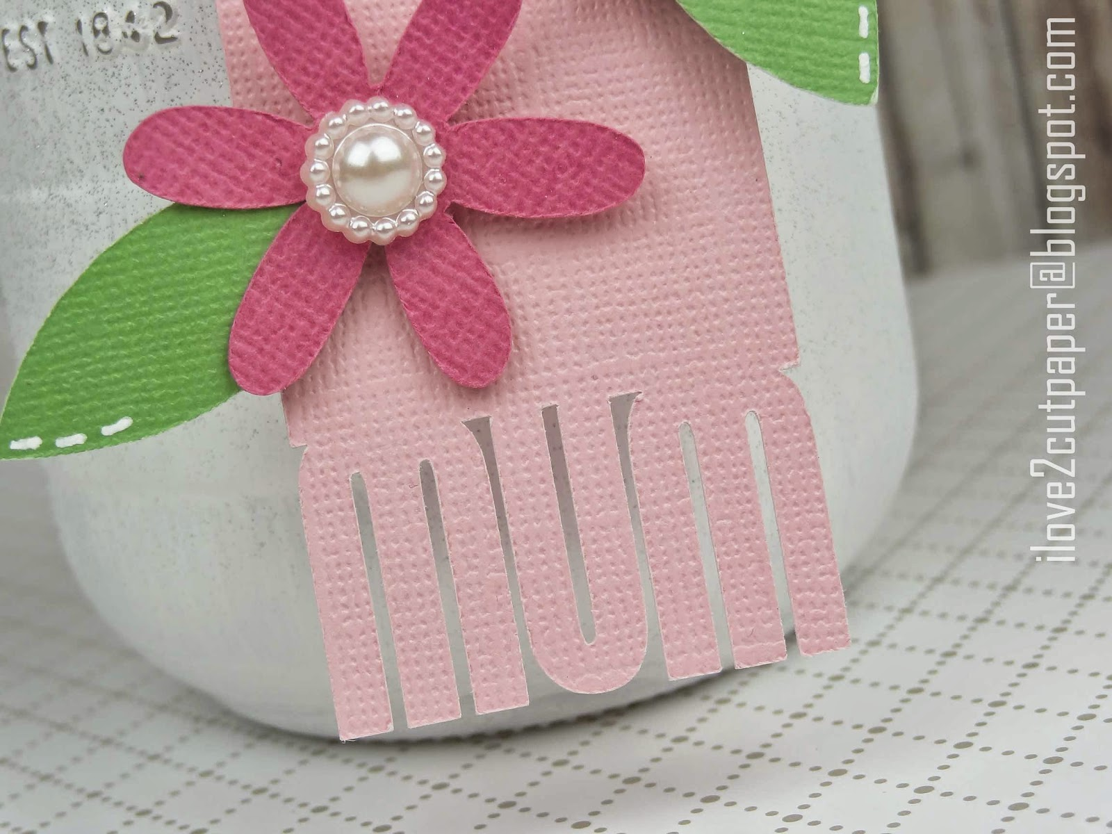Mother's Day tag svg file