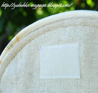 Летний рюкзак из ткани