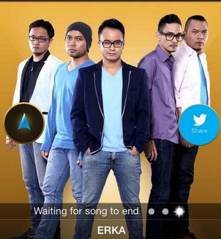 erka Yang Tereliminasi di Rising Star Indonesia 2014 tadi malam 31 Oktober