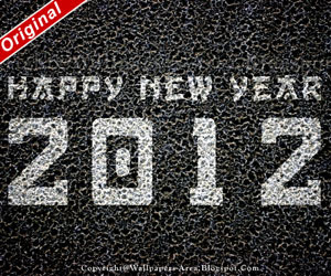 Free Download Happy New Year 2012 card Wallpapers
