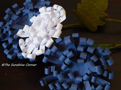 Semi quilled flowers