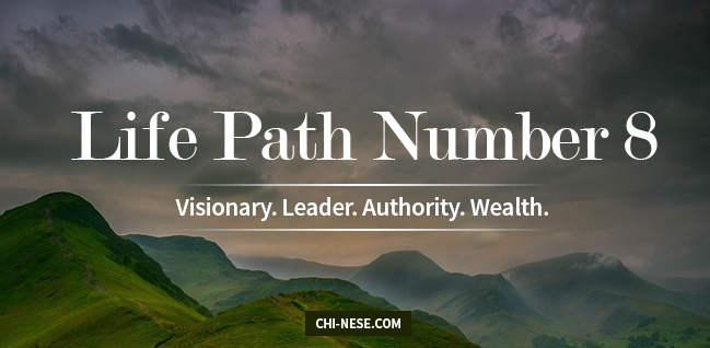 Life Path 8 numerology