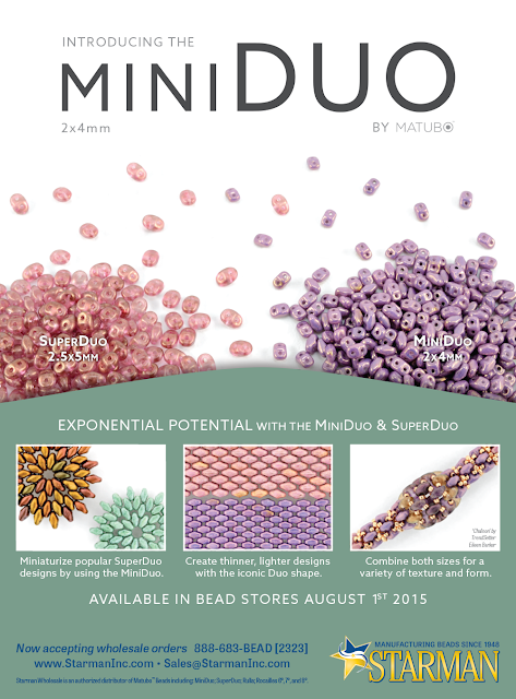 MiniDuo and SuperDuo beads by Matubo