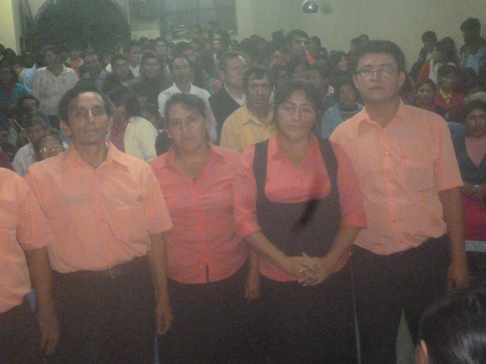 Ministerio EMANUEL de Tocache fue invitado al departamento de Ancash provincia de Pomabamba