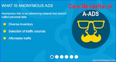 Cara Mendaftar di A-ADS