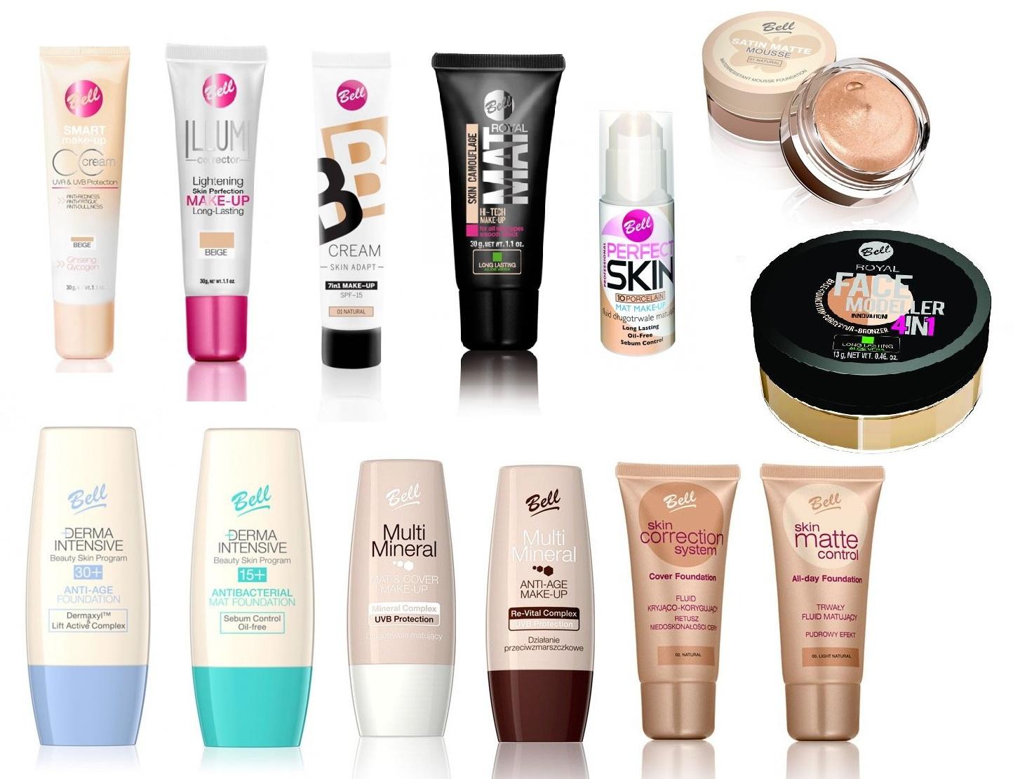 Bell tiene una gran variedad de bases de maquillaje, como veis, tenemos donde escoger. Depende de nuestro tipo de piel, el acabado que busquemos,