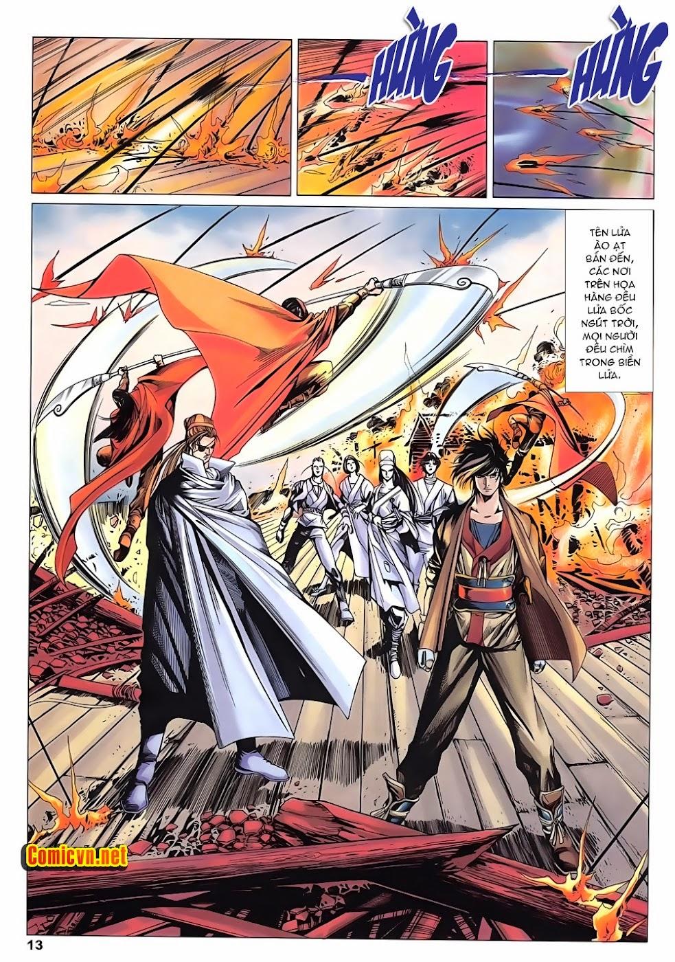 Lục Đạo Thiên Thư chap 15 - Trang 13