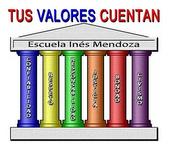 Logo Tus Valores Cuentan Esc. Ines Mendoza
