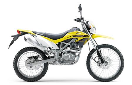 gambar Kawasaki KLX 150 BF Kuning