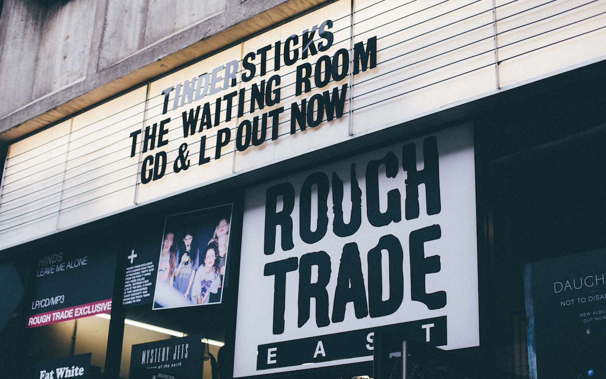 Rough Trade East on Brick Lane