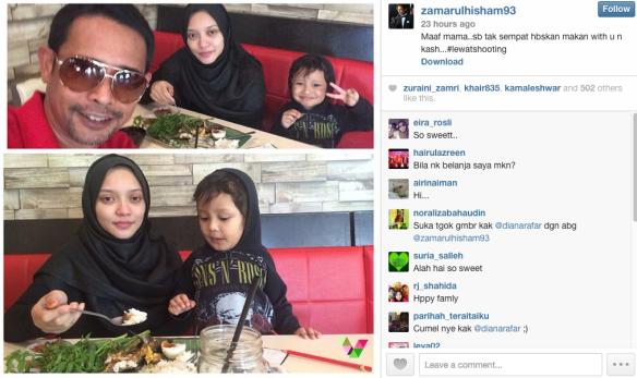 Diana Rafar Sahkan Fail Perceraian Ke Atas Zamarul Hisham, info, terkini, hiburan, sensasi, gossip, Diana Rafar, Zamarul Hisham