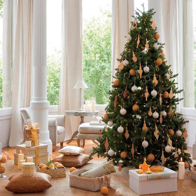 árbol decoración manualidades niños