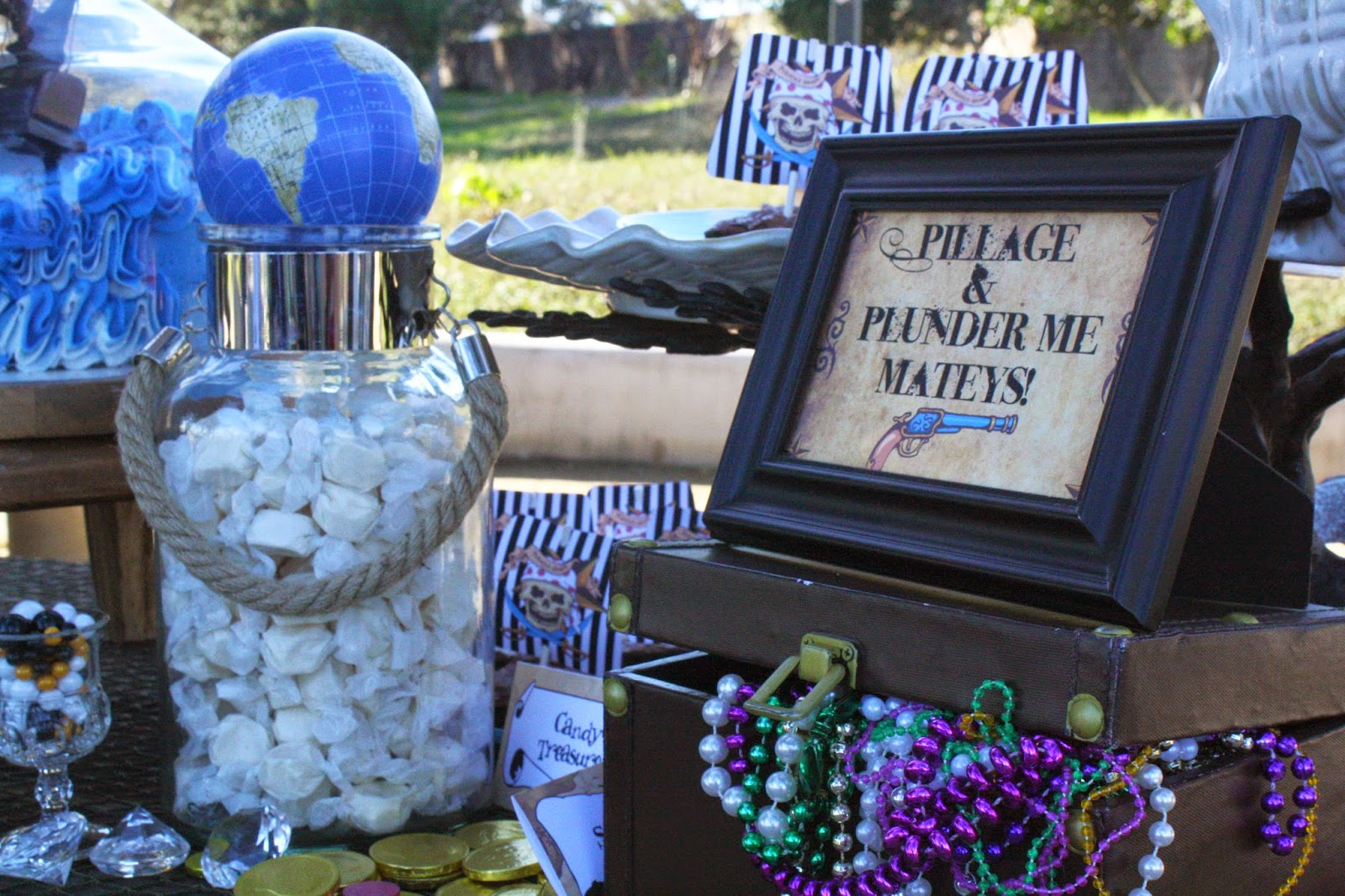 Pirate Party Candy Table