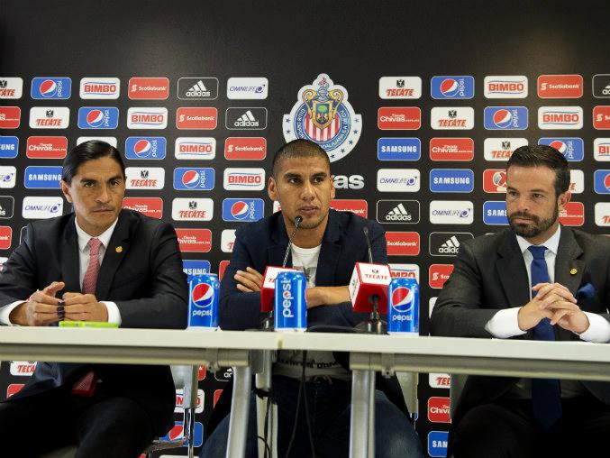 Carlos Salcido, durante su anuncio del adiós definitivo de la Selección mexicana.
