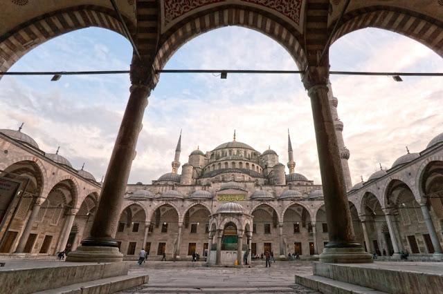 Sultan Ahmet Mosque Dome