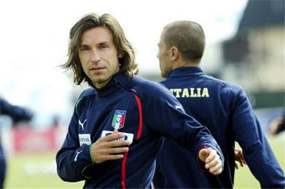 Andrea Pirlo Italian Football Players