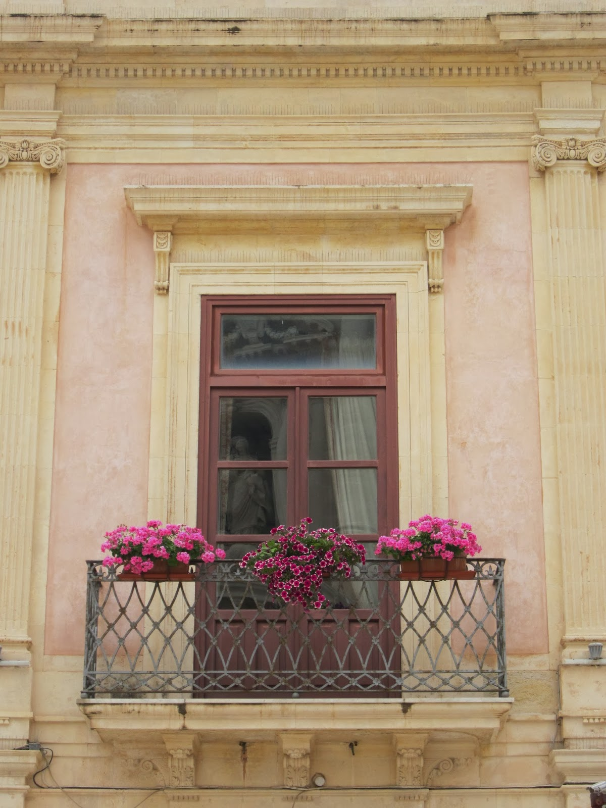 Romantic and Beautiful Balcony in Sicily
