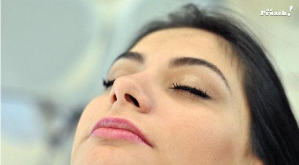 Design de sobrancelhas - técnica egípcia - depilação com linha