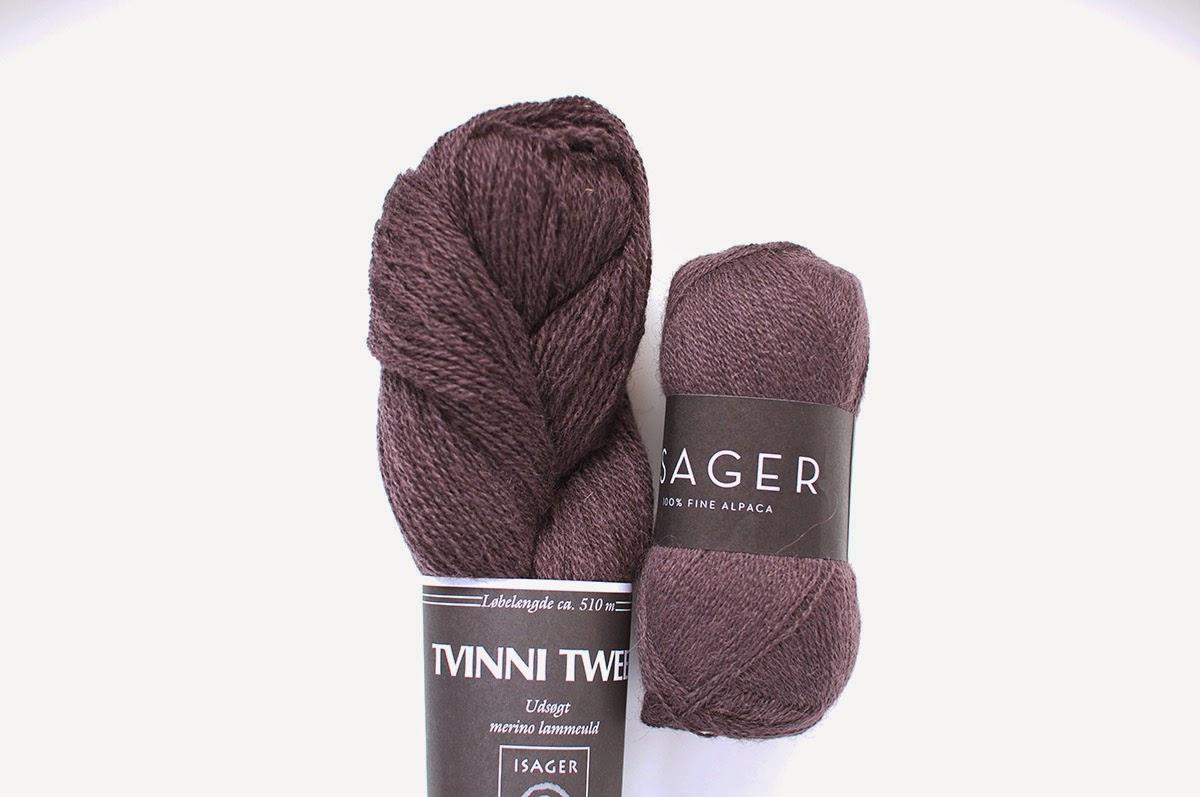 Isager糸Spinni & Alpaca 1 - 色番60sのセット