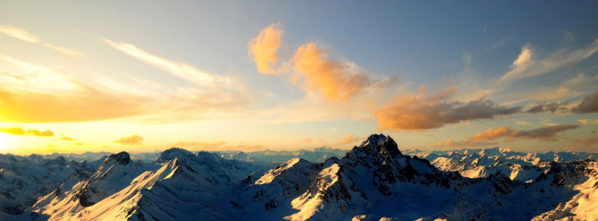 Swiss Alps facebook cover