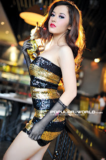 hot Adinda for Popular World February 2013