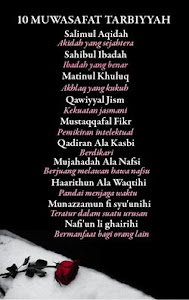 10 Muwasofat Tarbiyah