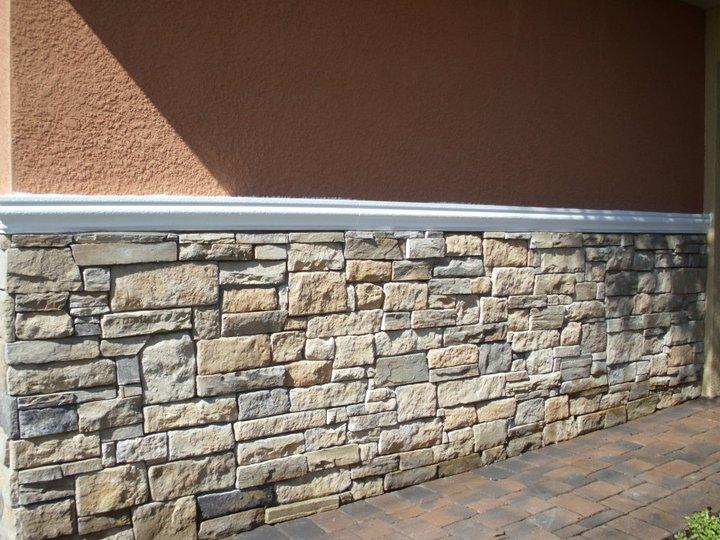 Glass block windows kansas city masonry april 2012 for Brick stone veneer