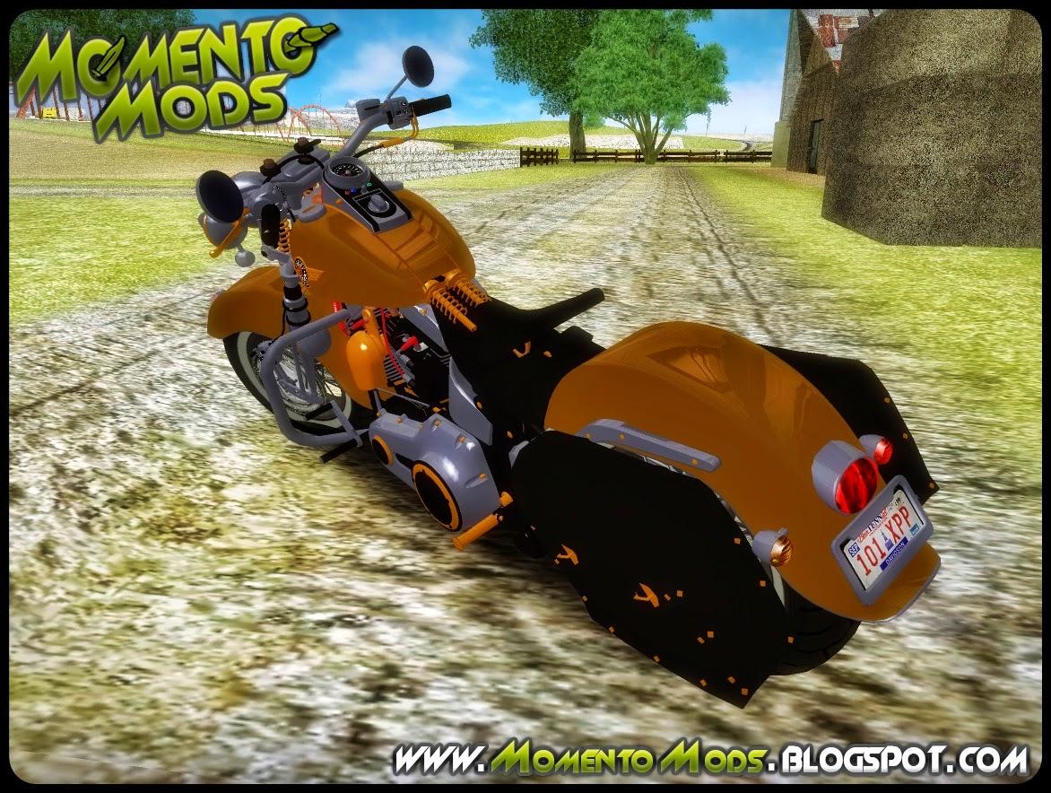 GTA SA - Harley Davidson Fat Boy Lo Vintage