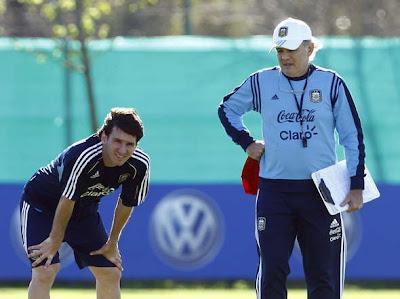 """Sabella: """"Messi es un ser humano como todos"""""""