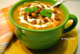 Roasted Southwest Pumpkin Stew   from Miz Helen's Country Cottage