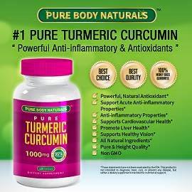 Pure Body Naturals Turmeric Curcumin Extract