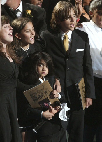 Michael Jackson's youngest son Blanket