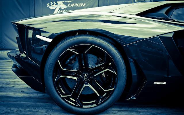 Fondos HD Lamborghini Aventador LP700-4 Negro